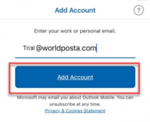 55555555555555 300x245 - Configure WorldPosta on Outlook iOS App