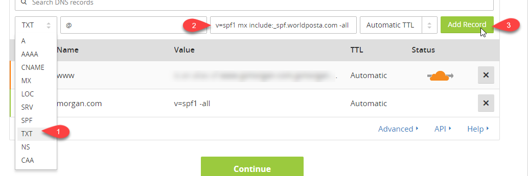 2018 03 18 15 08 09 - How to configure DNS records in Cloudflare.