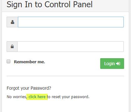 word image 71 - Reset admins control panel password