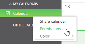 word image 83 - stop sharing Calendar in Outlook